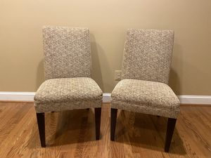 2 Arhaus Dining (or Accent) Chairs for Sale in Vienna, VA