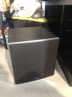 """Polk Audio Subwoofer 10"""" 100W PSW10 for Sale in Los Angeles, CA"""