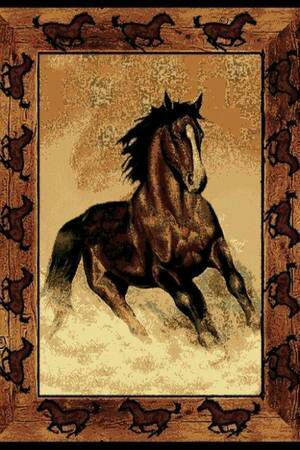 New 5x8 stallion area rug for Sale in Kingsport, TN