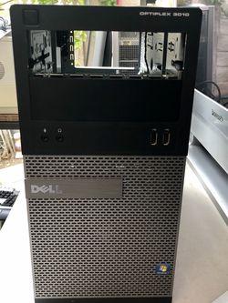 EMPTY PC CASE OPTIPLEX 3010 DELL- Empty CASE- USE FOR BUILDING COMPUTER -IN GOOD CONDITION for Sale in Anaheim,  CA
