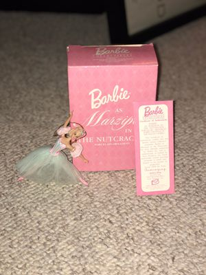 8 Barbie ornaments all with box and cert of authenticity for Sale in East Windsor, NJ