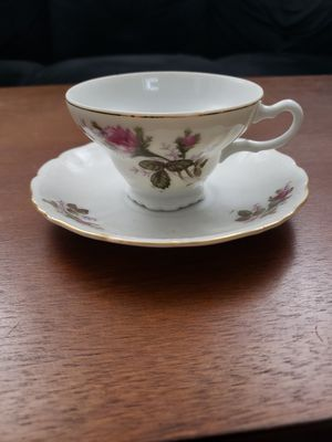 Teacup and saucer, china by Ucagco for Sale in Woodbridge, VA