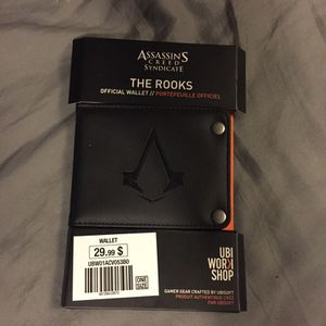 Assassins creed wallet for Sale in Copen, WV