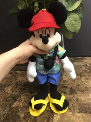 Vacation Mickey Mouse Disney plush plushie for Sale in Goodyear, AZ