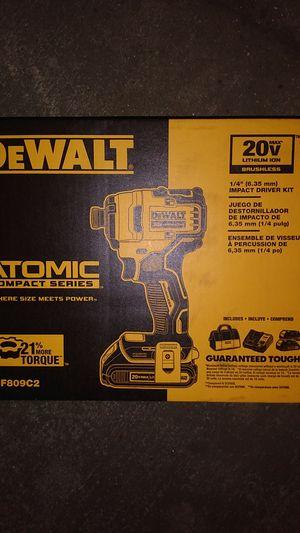 DeWalt Impact Driver 20V Kit**Brushless** for Sale in Montclair, CA