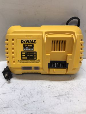 20-Volt MAX Lithium-Ion Fan Cooled Fast Battery Charger for Sale in Bakersfield, CA