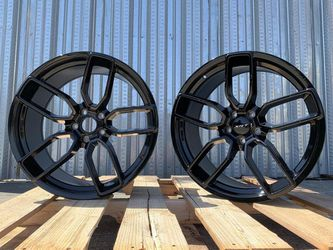 """Charger Daytona Challenger 20"""" New Blk Hellcat Style Rims Tires Set for Sale in Hayward,  CA"""