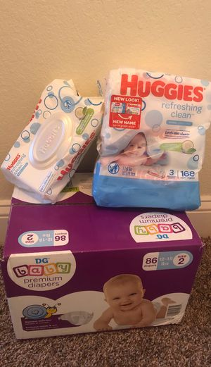 Baby Diapers and Wipes for Sale in Virginia Beach, VA