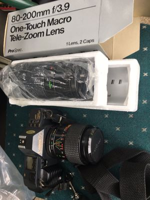 CANON camera with zoom lens all for 125 Firm for Sale in Severn, MD