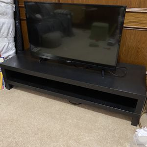 "IKEA Tv Stand Dark Brown 58x21x H14"" for Sale in Chamblee, GA"