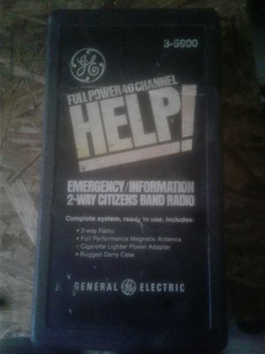 General electric 40 chanel 2 way radio for Sale in Birch River, WV