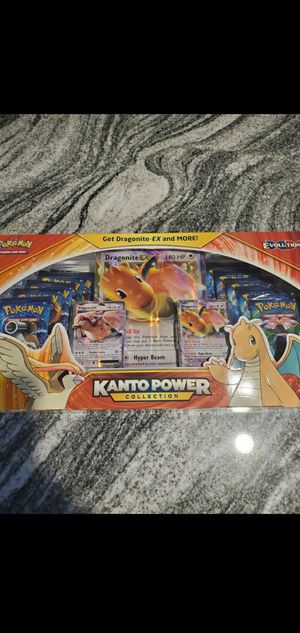 Pokemon Kanto Powers Box (ALL EVOLUTION PACKS INSIDE) for Sale in Spanaway, WA