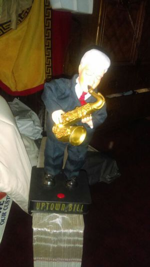 Uptown Bill Clinton dancing with saxophone for Sale in Philadelphia, PA
