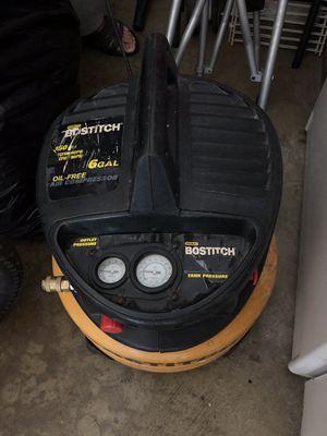 bostitch 6 gal pancake air compressor for Sale in Annandale, VA