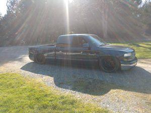 02 Chevy Silverado on bags for Sale in Arlington, WA