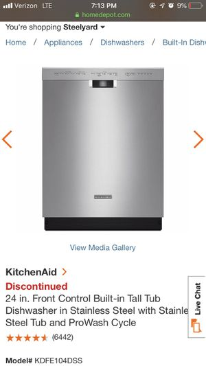 KitchenAid Dishwasher for Sale in Independence, OH