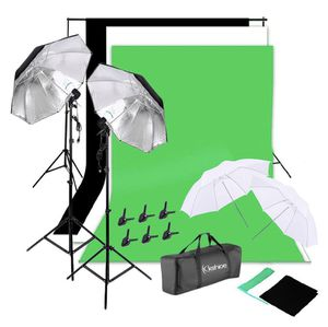 Photo Video Studio Lighting Photography Backdrops Stand Muslim Photo Light Kit for Sale in North Miami, FL