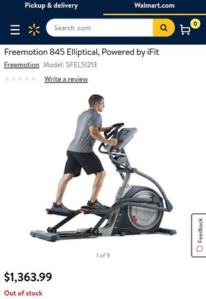 FreeMotion 845 Elliptical powered by I-Fit for Sale in Richmond, VA