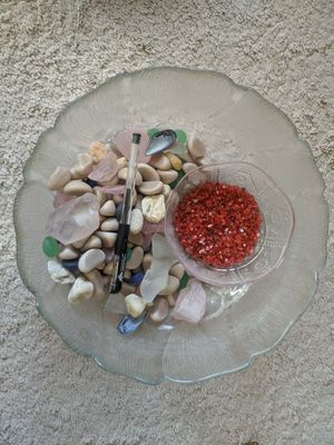 Decorative stones and bowl for Sale in Adelphi, MD