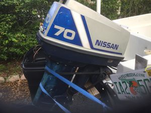 94 Nissan 70 hp for Sale in North Lauderdale, FL
