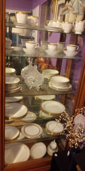 63 china set never used for Sale in Baltimore, MD