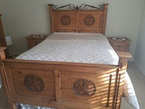 Rustic Star Bedroom Set for Sale in Dallas, TX