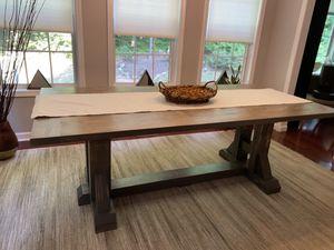"Custom Made: Pottery Barn Inspired Farm Table 84""x40"" for Sale in Austell, GA"
