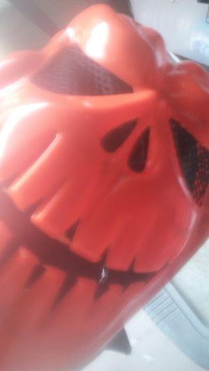 Halloween Mask Pumpkin Creepy face for Sale in Houston, TX