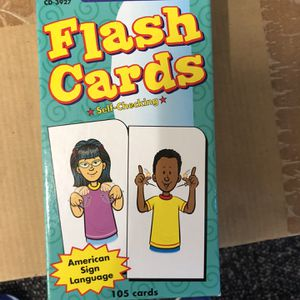 Flash Cards, Sign Language for Sale in Whittier, CA
