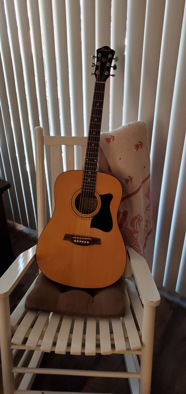 Ibanez acoustic guitar!!