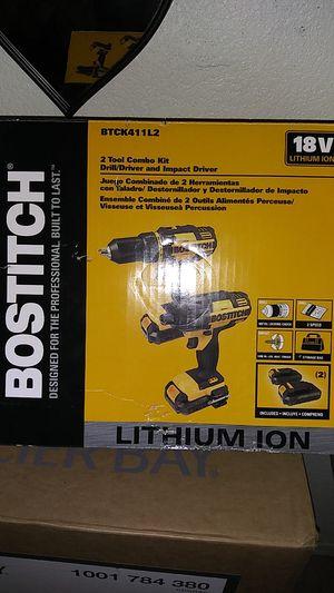 NEW Bostitch 2 Tool Combo Kit Drills 18v for Sale in Phoenix, AZ
