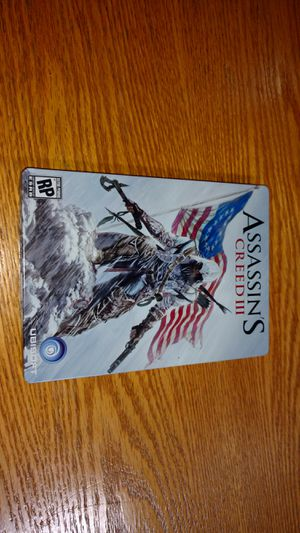 Assassin's Creed 3 Steelbook & Super Smash Bros Melee Manual, etc for Sale in Montclair, CA