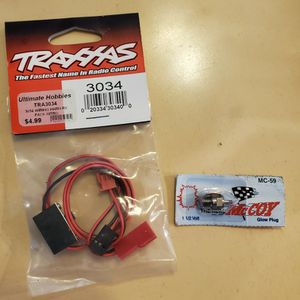 Traxxas T Maxx Battery Switch And Glow Plug for Sale in Aliso Viejo, CA