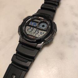 casio illuminater watch for Sale in San Jose,  CA