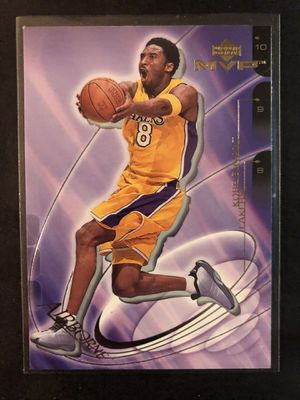 Kobe Bryant 2001 Upper Deck Basketball Card. Kobe Bryant LA LAKERS Basketball Trading Card INSERT 🔥 for Sale in Chicago, IL
