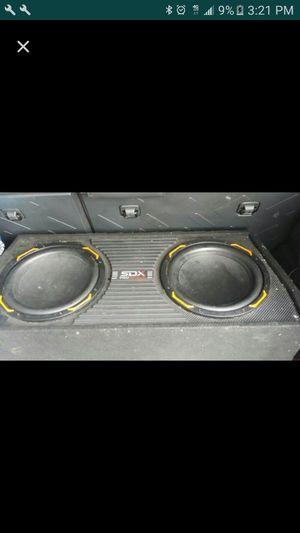 """Sdx pro audio 10"""" con aplificador incluido for Sale in Tracy, CA"""