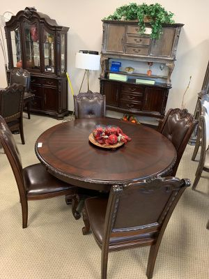 🍻39 DOWN🍻Brand New 5-Piece Brown Formal Round Dining Set.[ Table & 4 Side Chairs ] for Sale in Houston, TX