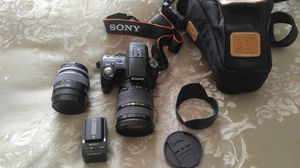 Like new Sony a 55 DSLR camera for Sale in San Francisco, CA
