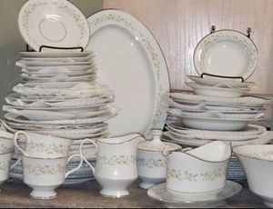 Sango China Set of 8, Platinum, Japan, collectables... to compare with online price for $90 for Sale in San Diego, CA