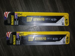 The best Sawzall blades out right now for Sale in Prattville, AL