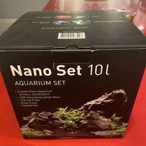 Nano Fishtank - ideal for Betta Fish for Sale in Great Falls, VA