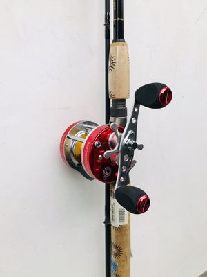Fishing rod with reel for Sale in Glendale Heights, IL