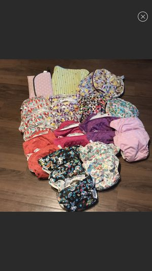 Rumparooz complete cloth diaper set for Sale in Seattle, WA