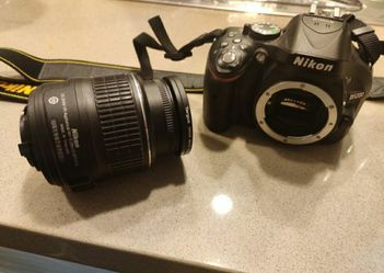 Nikon 5200 DSLR camera with filters + 64 memory card, negotiable/OBO for Sale in Milpitas,  CA