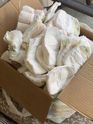 Newborn diapers PLEASE READ DESCRIPTION for Sale in Dallas, TX