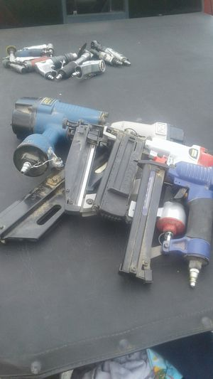Assorted air Nail & Staple guns for Sale in Columbus, OH