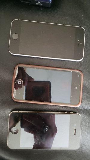Set of iPhone 5, iPhone 4, and iPod Touch for Sale in Sandy, UT