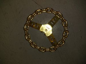 Small Gold Chain Steering Wheel for Sale in San Francisco, CA
