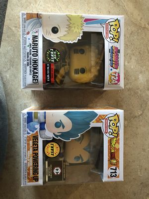 Vegeta chase and Naruto Chase Bundle for Sale in Hesperia, CA