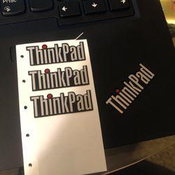 Lenovo ThinkPad T490 Laptop Sticker Logo for Sale in Seaside,  CA